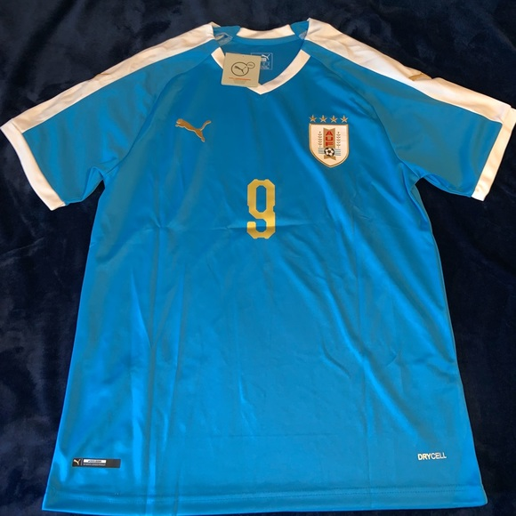 promo code 23fec 2142a Uruguay soccer jersey LUIS SUAREZ